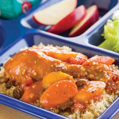 Moroccan Chicken and Carrots