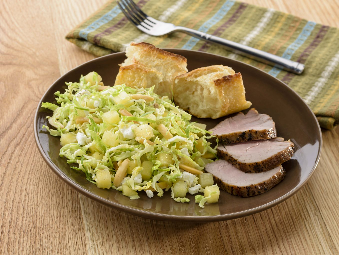Apple & Brussels Sprout Salad