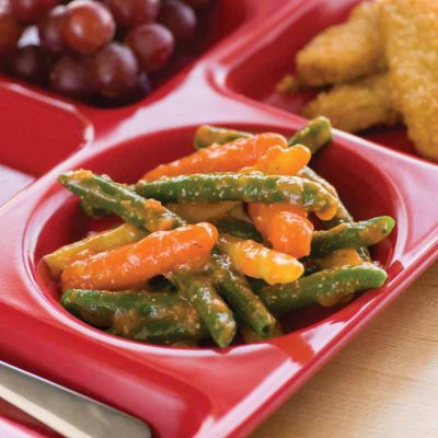 Mediterranean Vegetables with Sundried Tomato Pesto