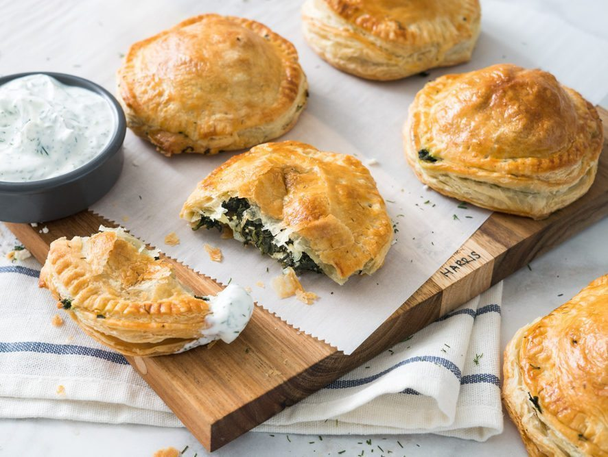 Spinach and Feta Hand Pies