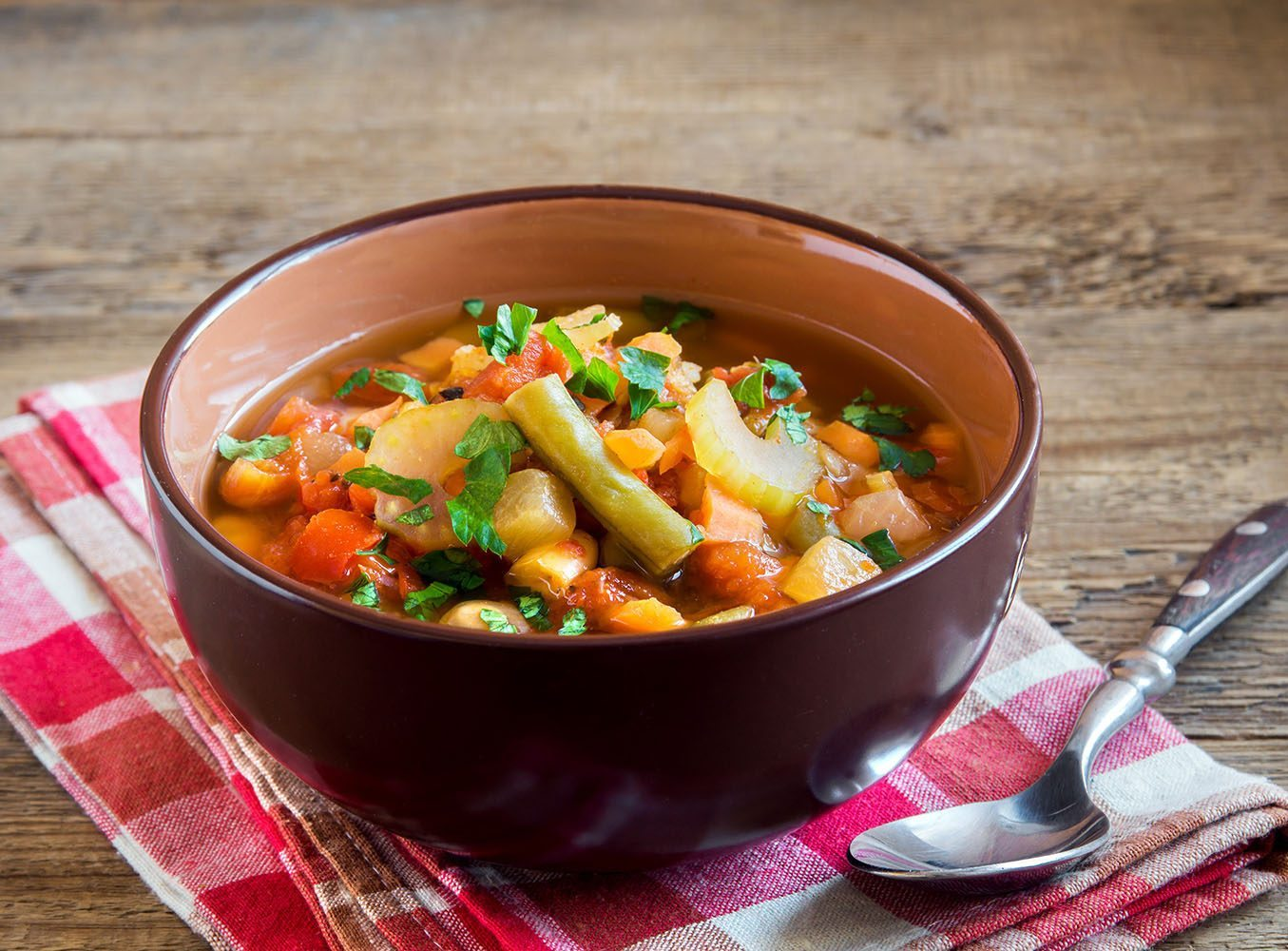 Crowd Pleasing Vegetable Soup