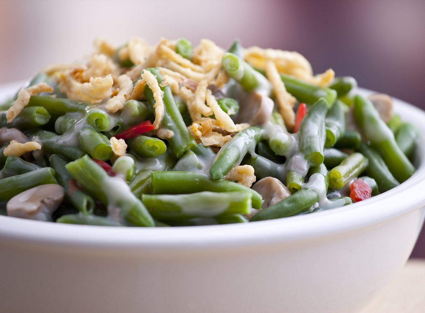Quick Green Bean and Mushroom Casserole