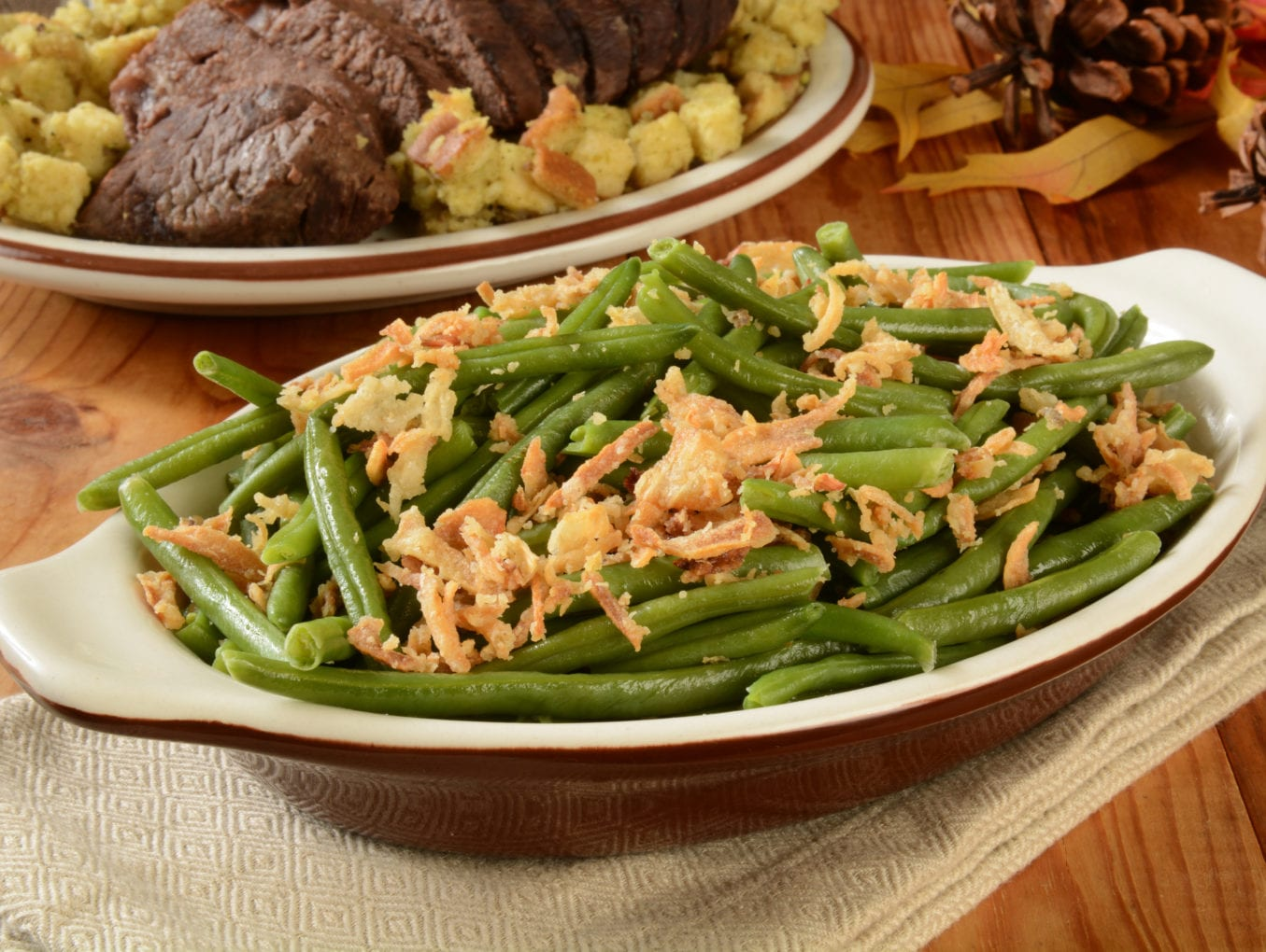 Sweet Slow Cooker Green Beans
