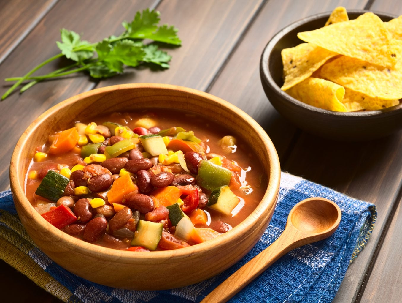 Vegetable Packed Chili