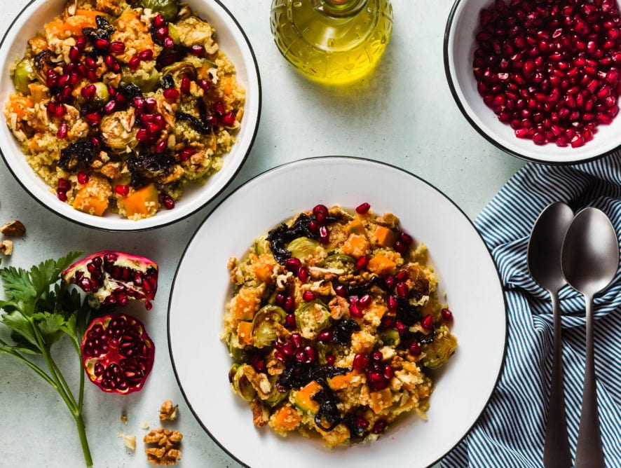"Autumn Quinoa ""Stuffing"""